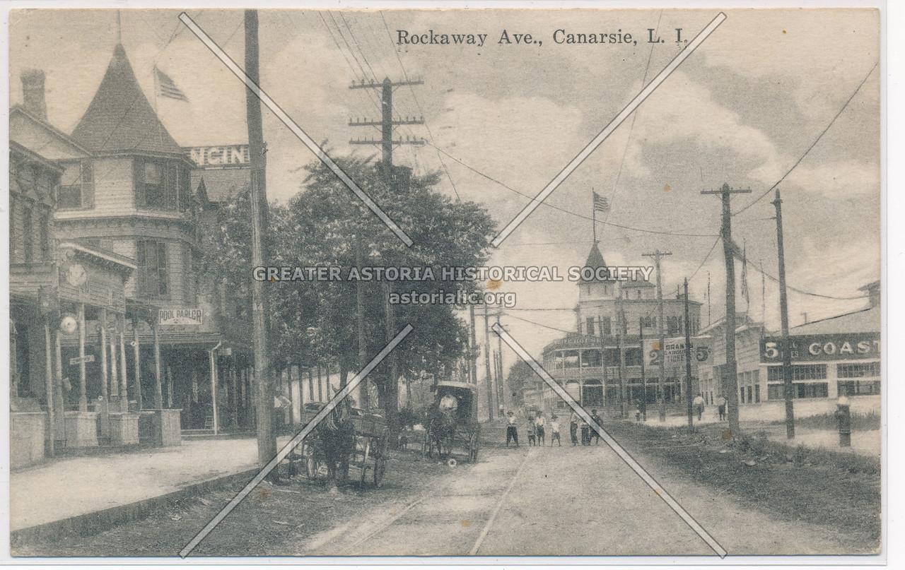 Rockaway Ave., Canarsie, BK.