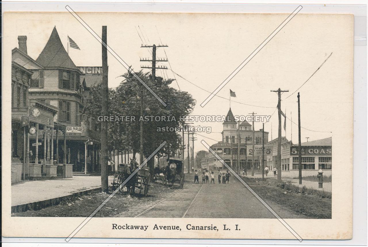 Rockaway Avenue, Canarsie, BK.
