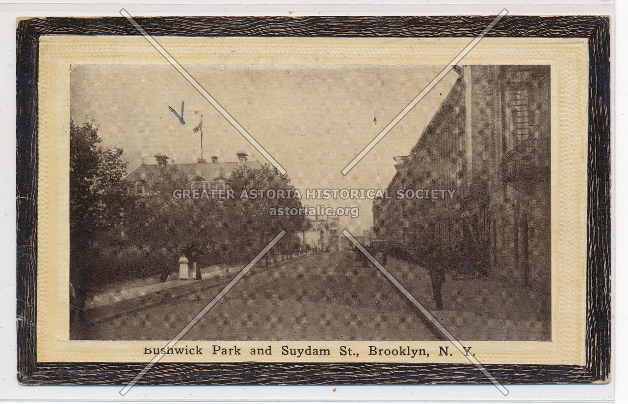 Bushwick Park & Suydam St., BK.