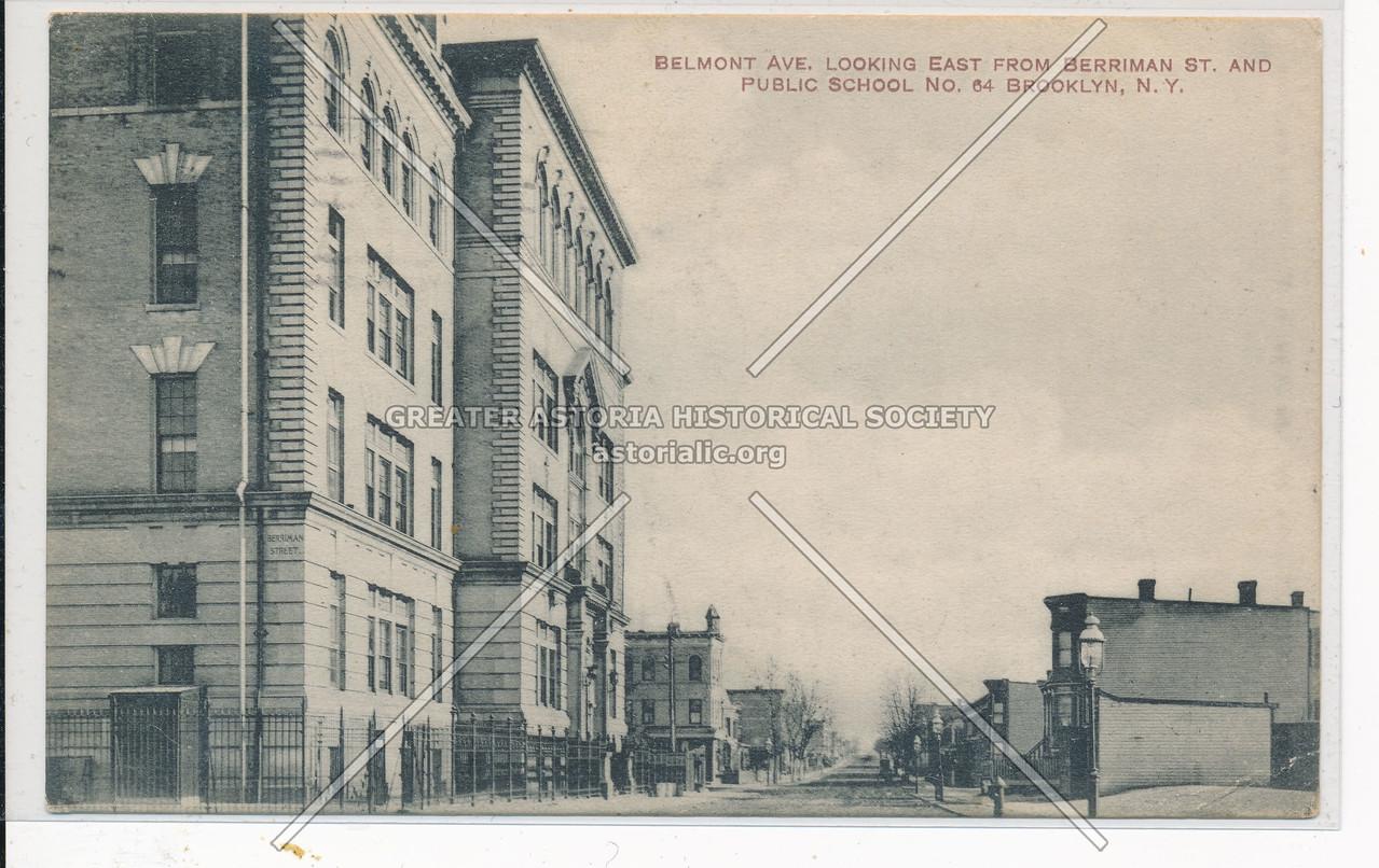 Belmont Ave & Public School No. 64, BK.