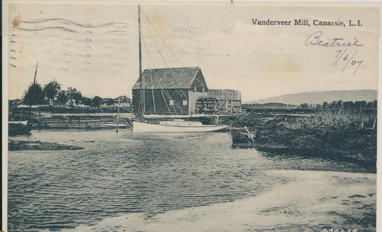 Vanderveer Mill, Canarsie, Bklyn