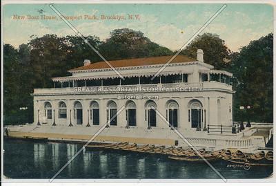 New Boat House, Prospect Park, Bklyn