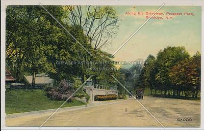 Along the Driveway, Prospect Park, Bklyn