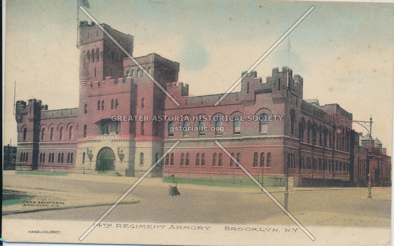 14th Regiment Armory, Brooklyn, N.Y.