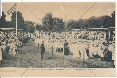 Anniversary Day Parade, Prospect Park, Bklyn