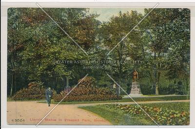 Lincoln Statue, Prospect Park, Bklyn