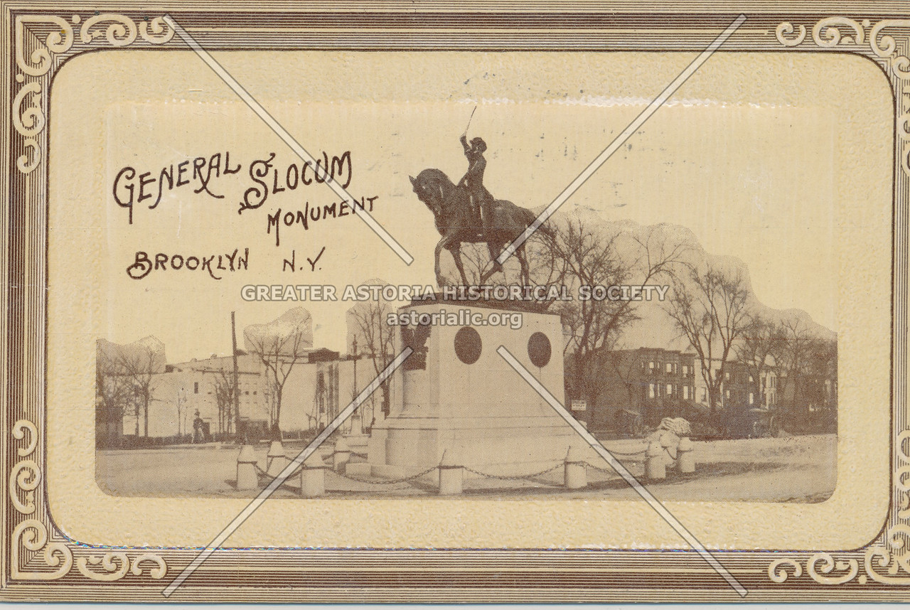 General Slocum Monument, Brooklyn, N.Y.