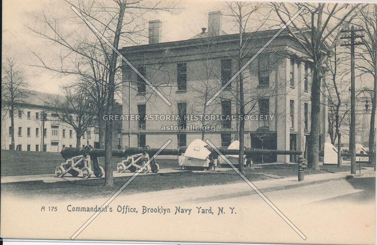 Commandant's Office, Brooklyn Navy Yard, N.Y.