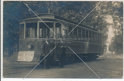 Trolley in Prospect Park, Bklyn.