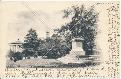 Stranahan Monument, Prospect Park, Bklyn