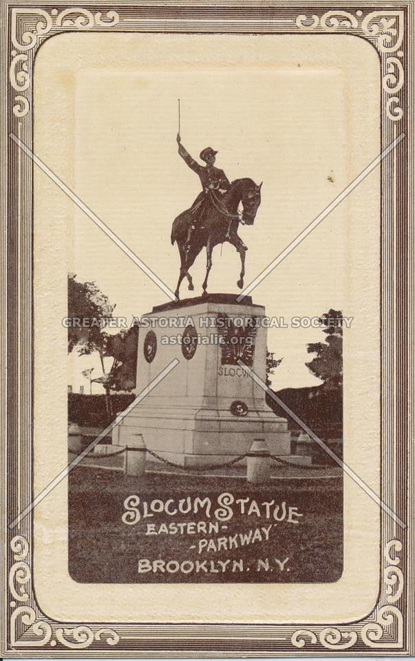 Slocum Statue, Eastern Parkway, Brooklyn, NY