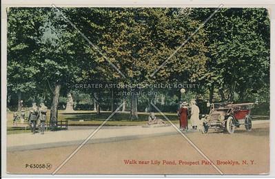Lily Pond, Prospect Park, Bklyn