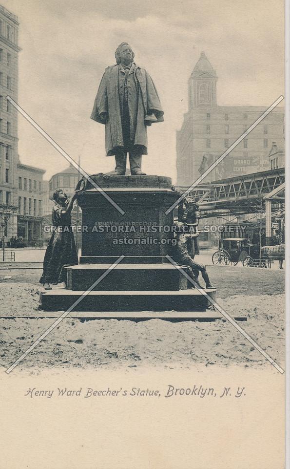 Henry Ward Beecher's Statue, Brooklyn, N.Y.