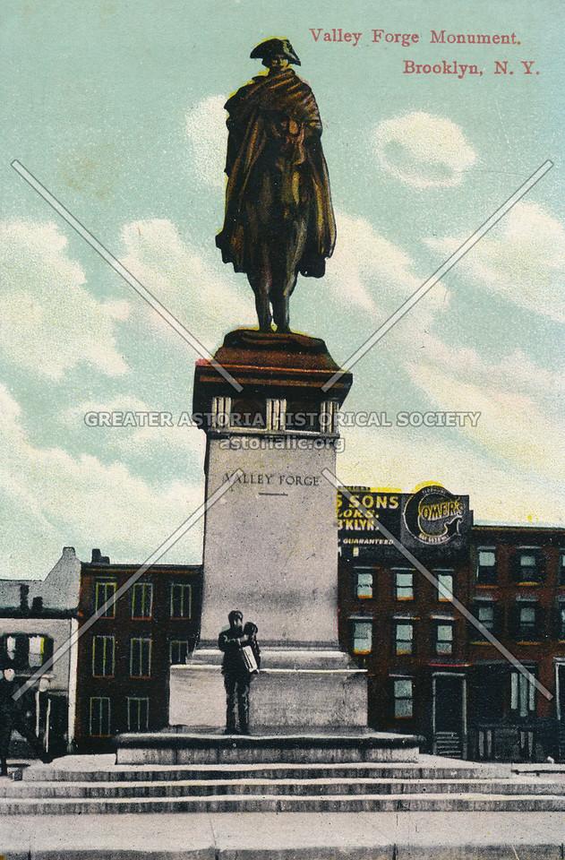 Valley Forge Monument, Brooklyn, N.Y.