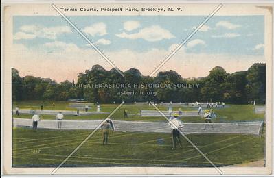 Tennis Courts, Prospect Park, Bklyn
