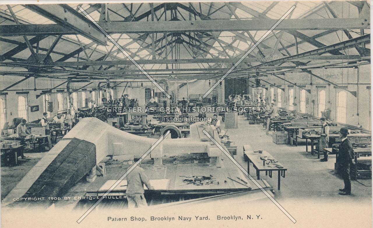 Pattern Shop, Brooklyn Navy Yard, Brooklyn, N.Y.