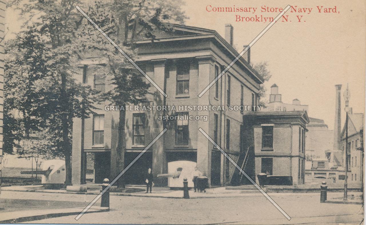 Commissary Store, Navy Yard, Brooklyn, N.Y.