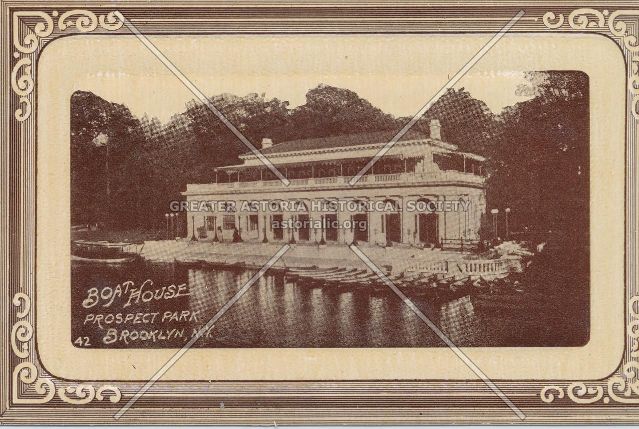 Boat House, Prospect Park, Brooklyn, N.Y.