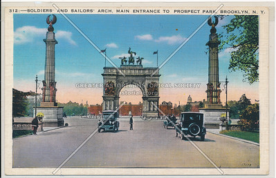 Soldiers' & Sailors' Arch, Prospect Park, Bklyn