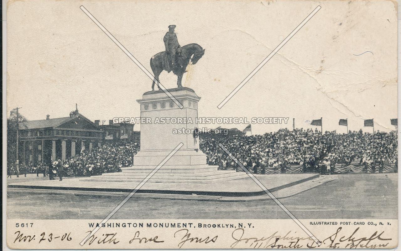 Washington Monument, Brooklyn, N.Y.