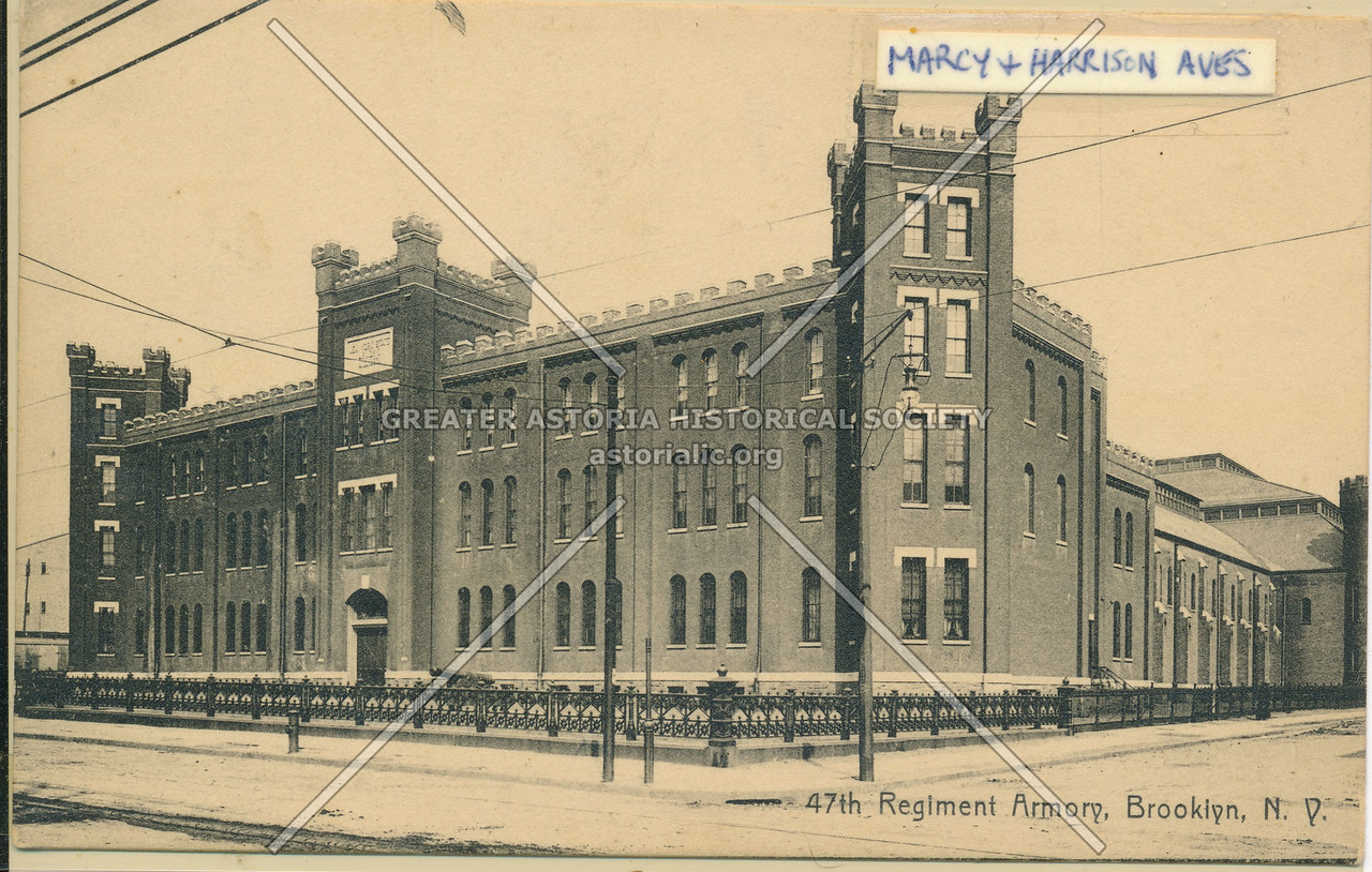 47th Regiment Armory, Marcy and Harrison Aves., Brooklyn, N.Y.