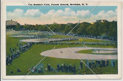 Baseball Field, Parade Ground, Bklyn