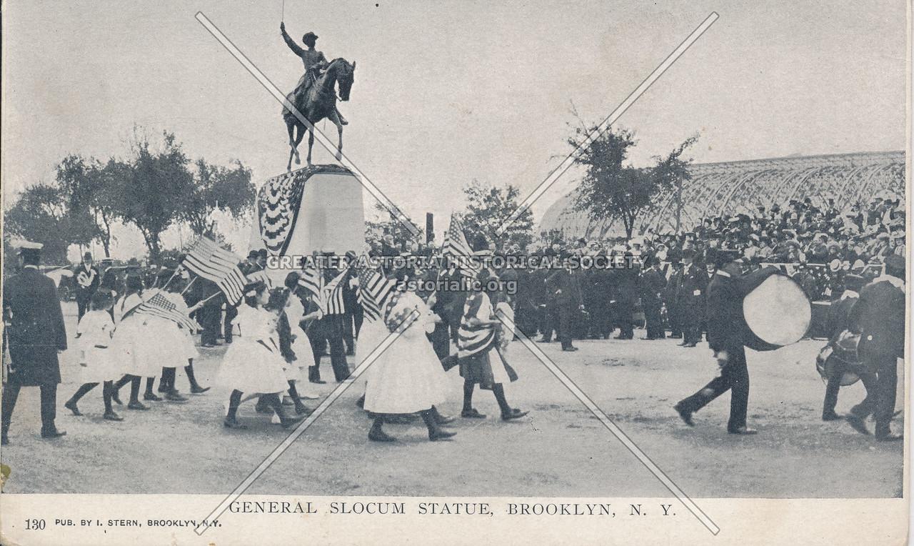 General Slocum Statue, Brooklyn, N.Y.