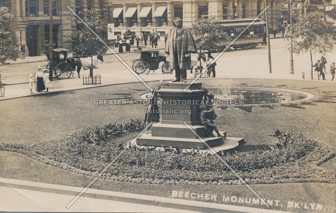 Beecher Monument, Bk'lyn