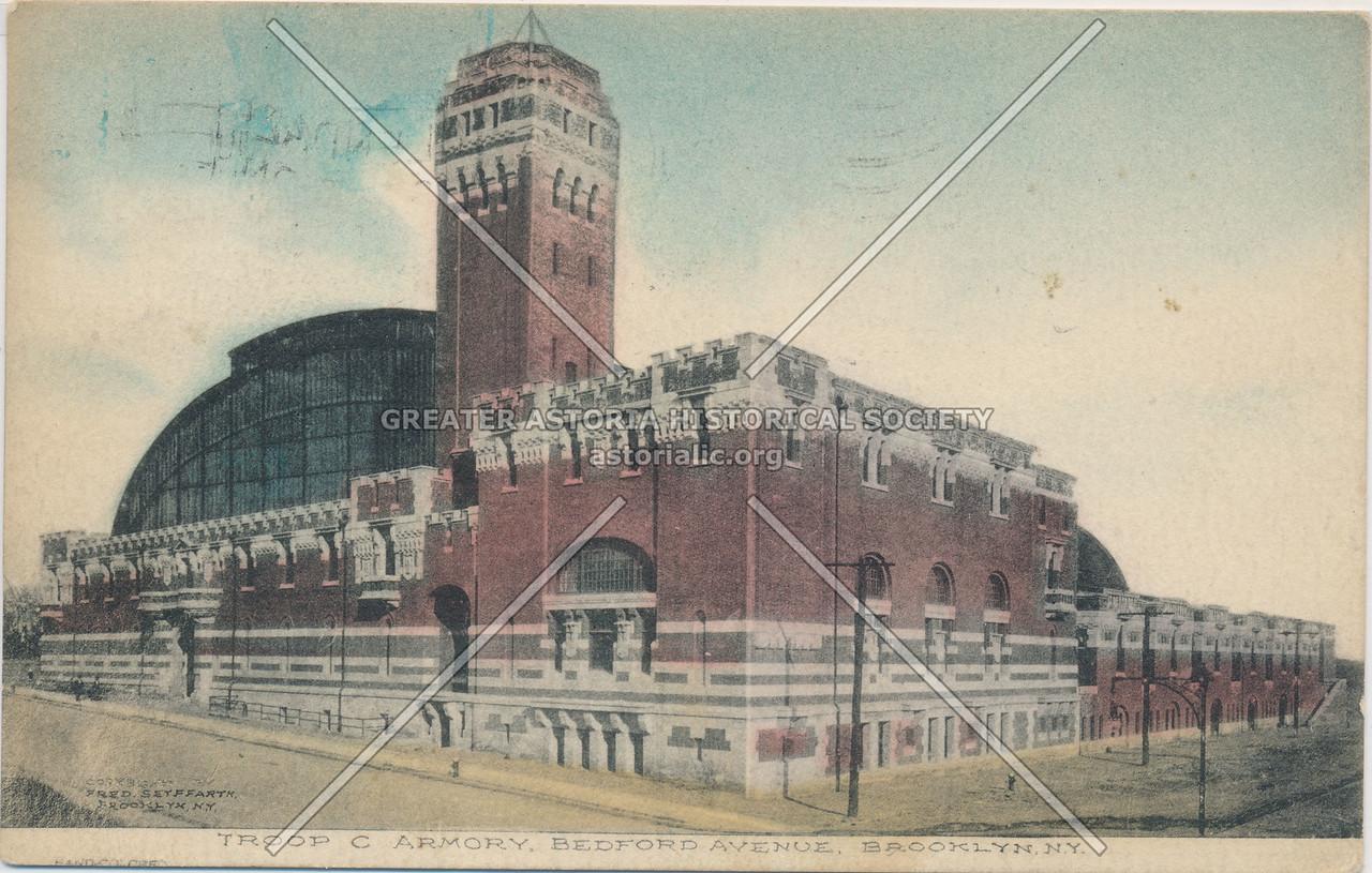 Troop C Armory, Bedford Avenue, Brooklyn, N.Y.