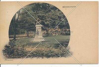 Moore Monument, Prospect Park, Brklyn.