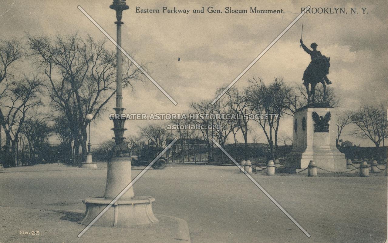 Eastern Parkway and Gen. Slocum Monument, Brooklyn, N.Y.