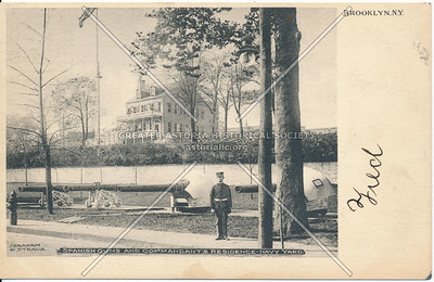 Spanish Guns & Commandant's Residence, Navy Yards, Bklyn
