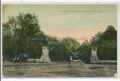 Prospect Park, South Entrance, Bklyn
