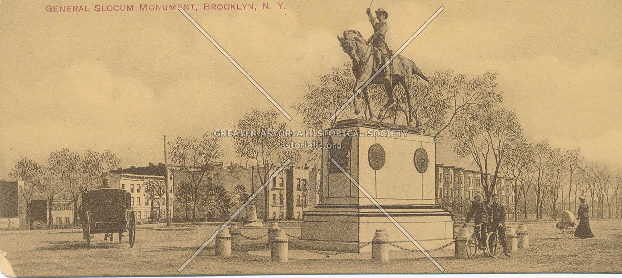 General Slocum Monument, Brooklyn, N.Y.