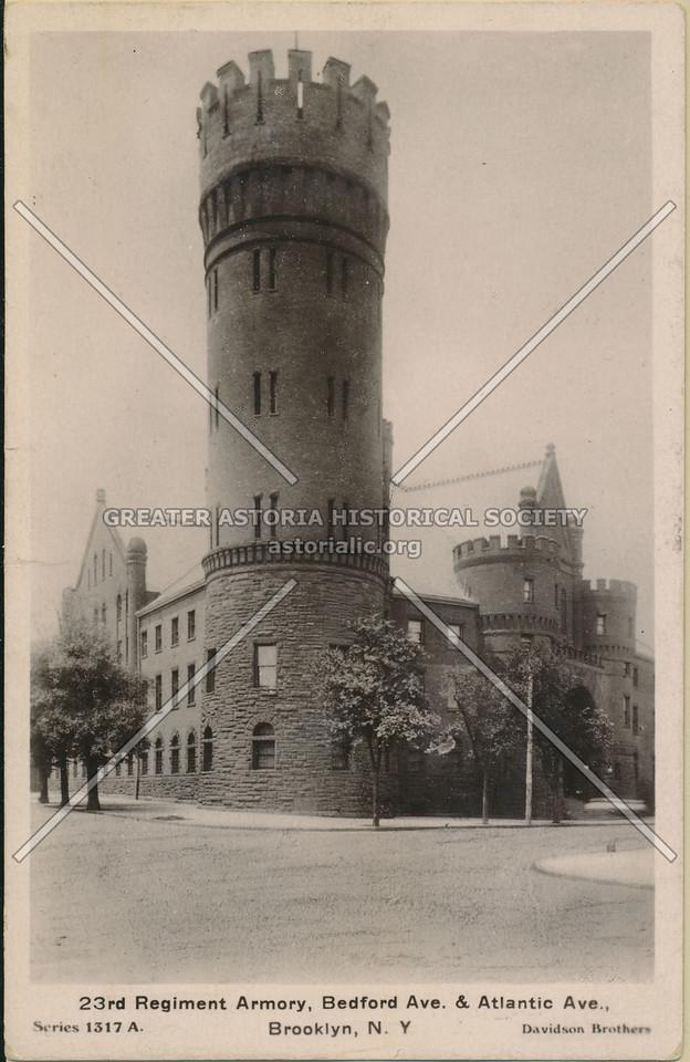 23rd Regiment Armory, Bedford Ave. & Atlantic Ave., Brooklyn, N.Y.