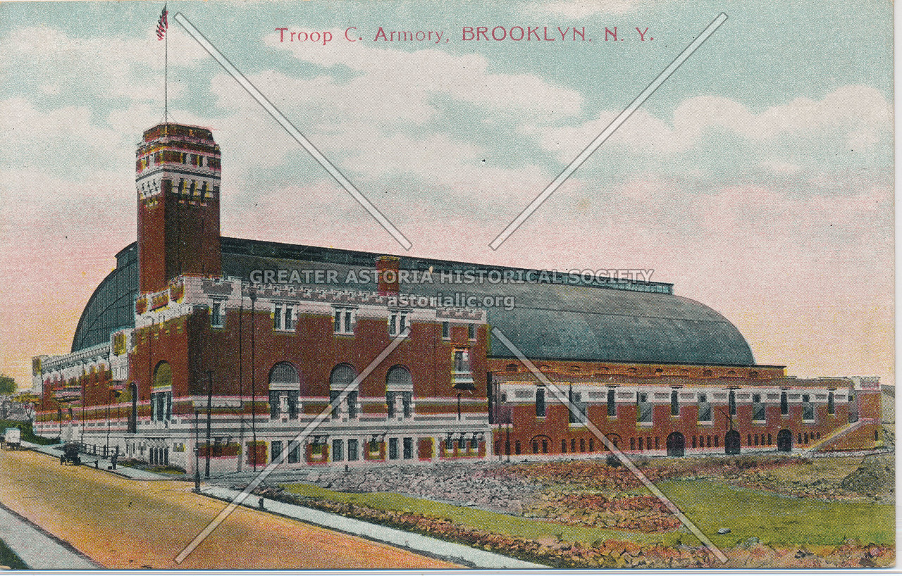 Troop C. Armory, Brooklyn, N.Y.