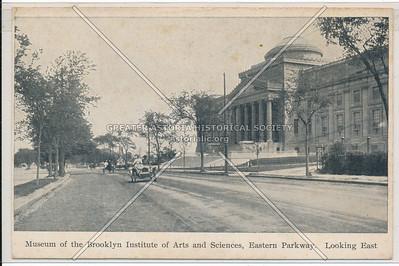 Museum of the Brooklyn Institute of Arts & Sciences, Eastern Parkway, Bklyn