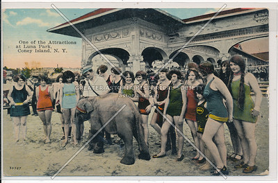 One of the Attractions at Luna Park, Coney Island, N.Y.