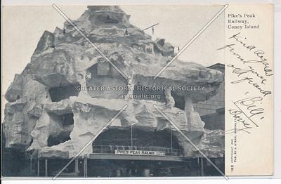 Pike's Peak Railway, Coney Island, N.Y.