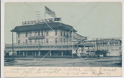 Proudman's Hotel, Coney Island, N.Y.