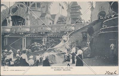 Helter Skelter, Luna Park, Coney Island, N.Y.