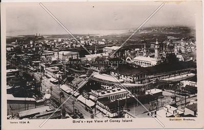 Bird's-eye View of Coney Island