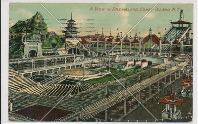 A View In Dreamland, Coney Island, N.Y.
