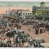 Crowds on Surf Avenue, Coney Island, N.Y.
