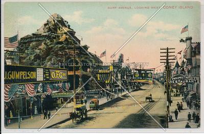 Surf Avenue, Looking West, Coney Island