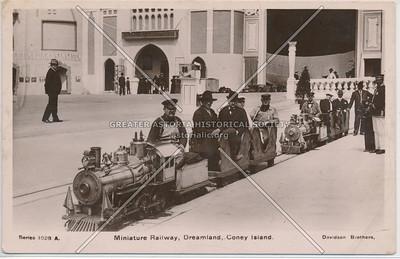 Miniature Railway, Dreamland, Coney Island