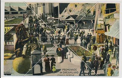 Promenade In Dreamland, Coney Island