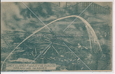 Coney Island's Biggest Fire Disaster, Dreamland In Ashes