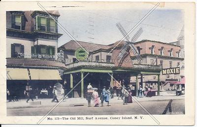 No. 173- The Old Mill, Surf Avenue, Coney Island, N.Y.