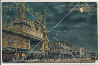 Surf Ave., Showing entrance to Luna Park, Coney Island, N.Y